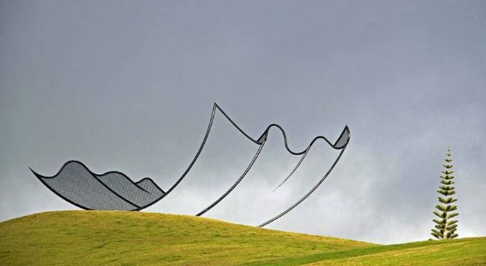 Farm Sculpture, abstraction, New Zealand