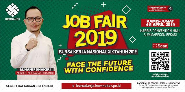 Job Fair Bekasi 2019 GRATIS