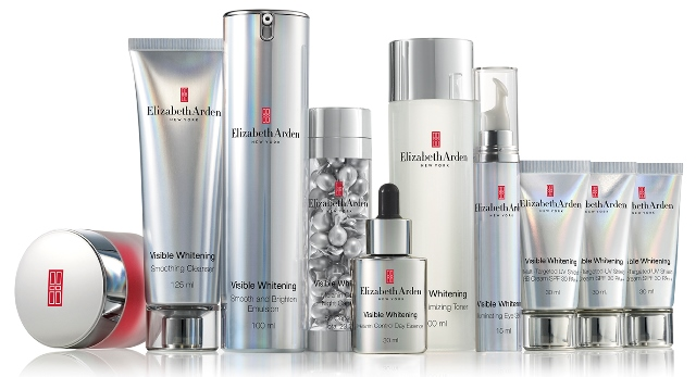elizabeth arden visible whitening family series