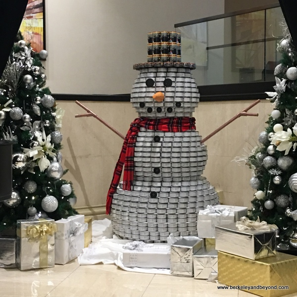 CanStruction 2017 at Hilton San Francisco Union Square in San Francisco