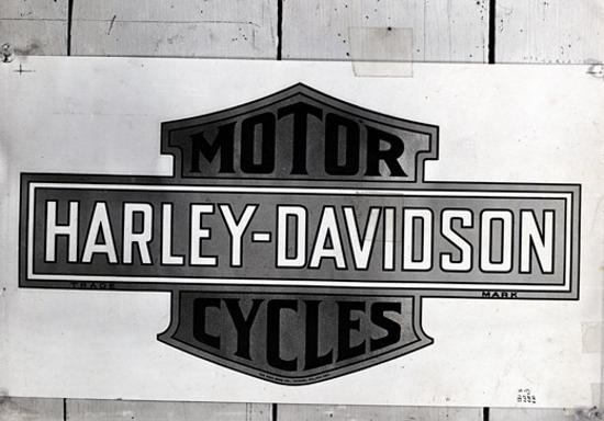 Harley-Davidson first logo appearance