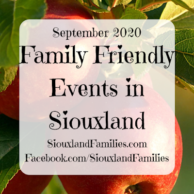 "in background, red apples hang amidst green leaves. in foreground, the words ""September 2020 Family Friendly Events in Siouxland"" and ""SiouxlandFamilies.com Facebook.com/SiouxlandFamilies"""