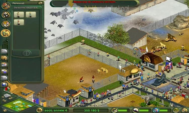 تحميل لعبة حديقة الحيوان Zoo Tycoon بحجم صغير