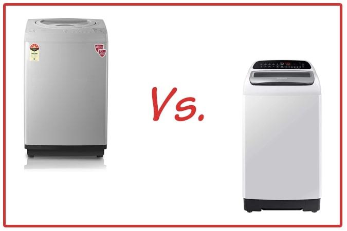 IFB TL RSS Aqua (left) and Samsung WA65T4262GG/TL (right) Washing Machine Comparison.