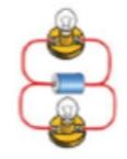 ilustrasi rangkaian listrik pararel