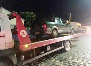Jovens roubam carro em Remígio PB, praticam assalto em Alagoa Grande e acabam em cana