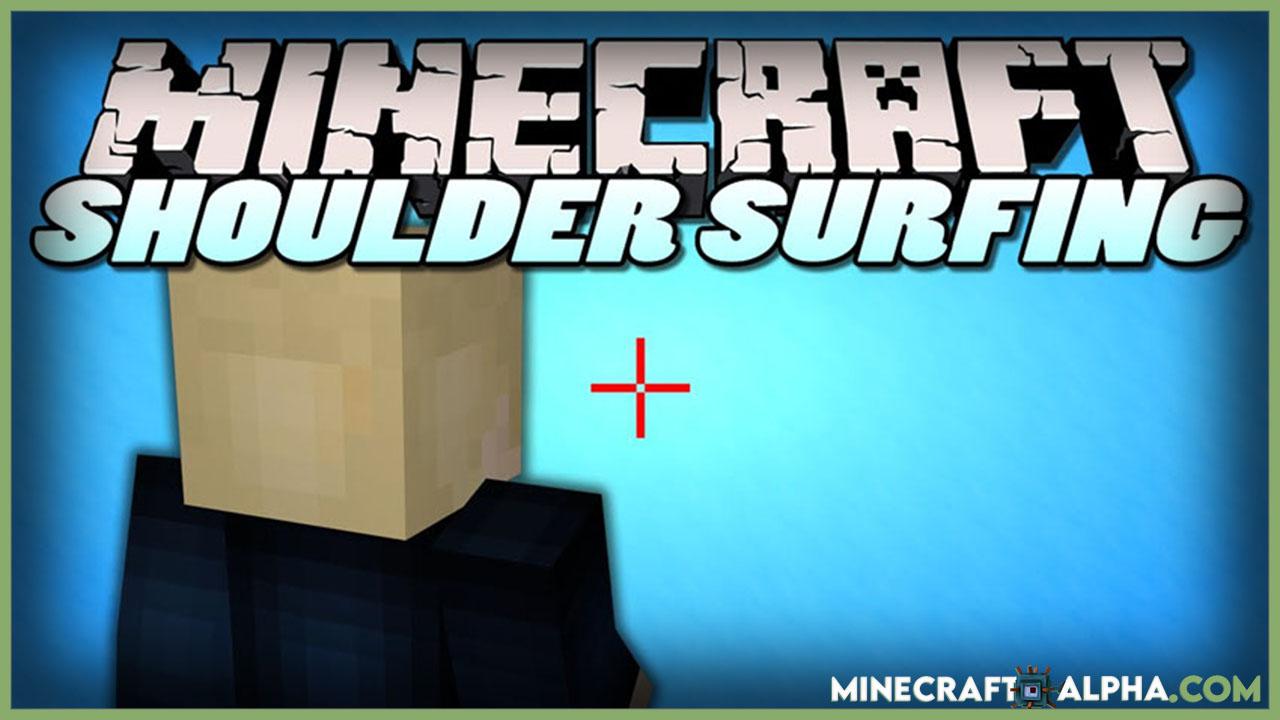 Minecraft Shoulder Surfing Reloaded Mod 1.16.5
