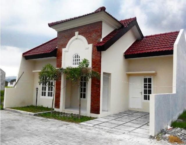 simple home design in village single floor