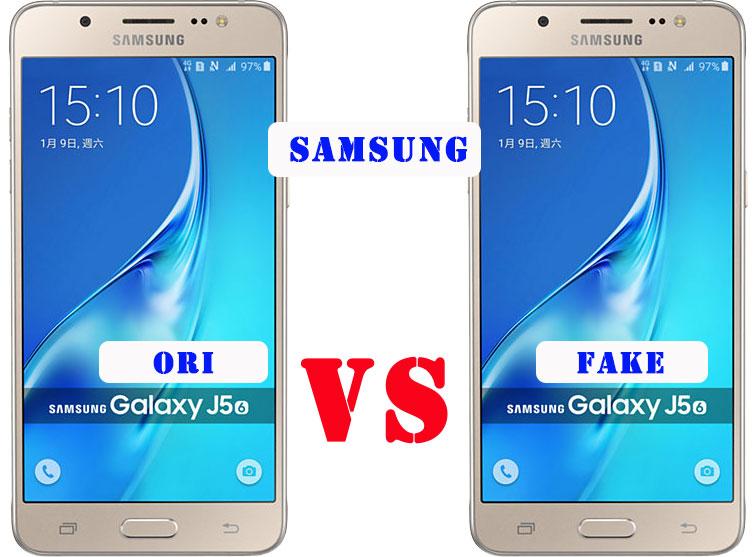11 Perbedaan Samsung J5 2016 Asli dan Palsu   Beda HP