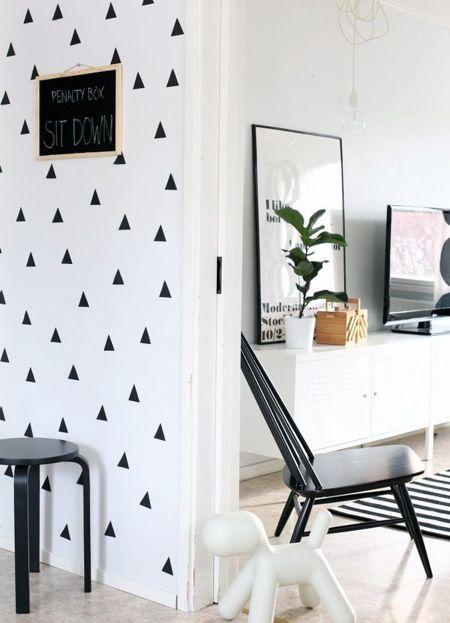 Formas geométricas para decorar las paredes de tu hogar