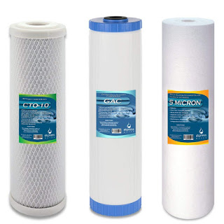 Whole House Water FIlter Set