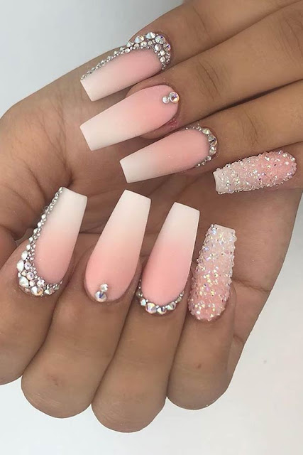 Thinking about having your nails done however can ✘ 39+ Coffin Acrylic Nails Ideas With French Ombre Nails In Style 2020