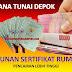 Syarat Ajukan Dana Tunai di Depok, Calon Nasabah Harus Punya Jaminan Sertifikat Rumah