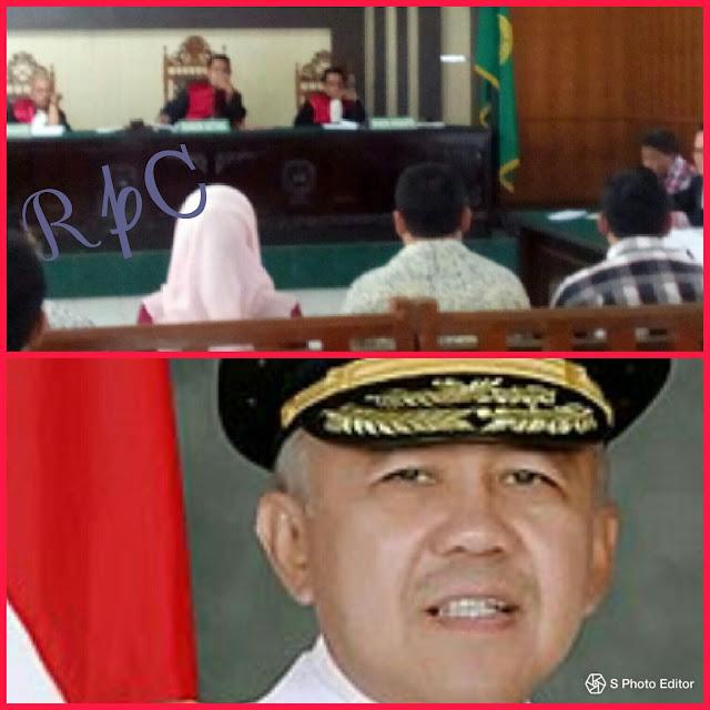 Wweiii....! Gubernur Riau Non Aktip Namanya Terseret Di