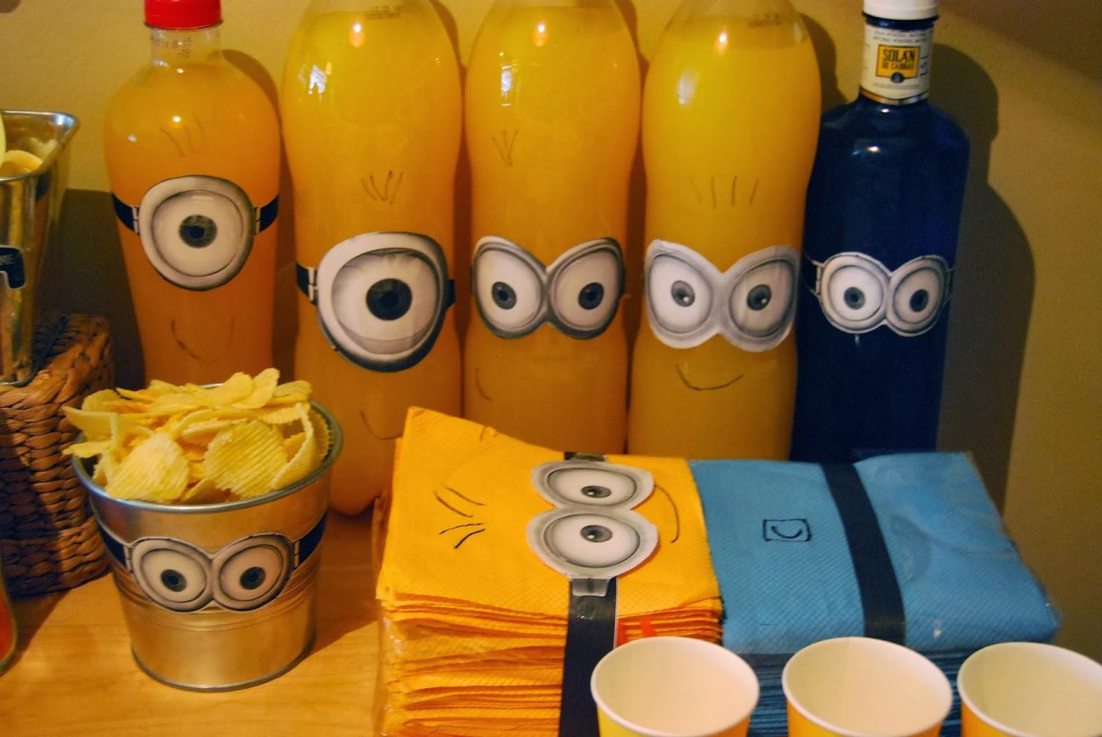 Minions Kindergeburtstag Deko Die Besten Partyideen