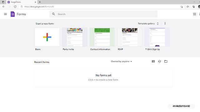 Kunjungi Situs Google Form