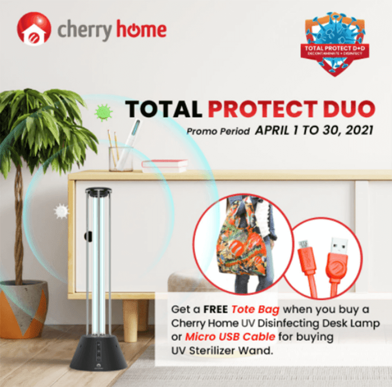 Cherry Home reveals Total Protect Duo Promo for the month of April