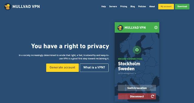 Mullvad VPN Ελλάδα
