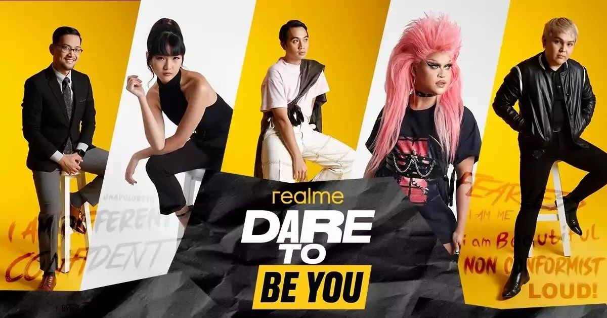 realme Dare To Be You