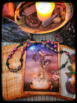 Coming to Life card from the Enchanted Map Oracle