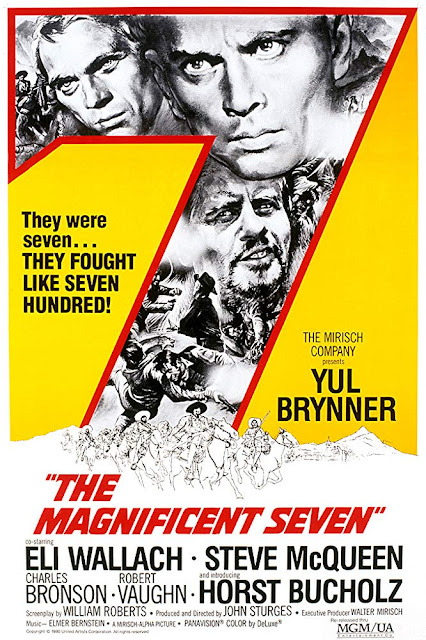 Film Western Terbaik - The Magnificent Seven (1960)