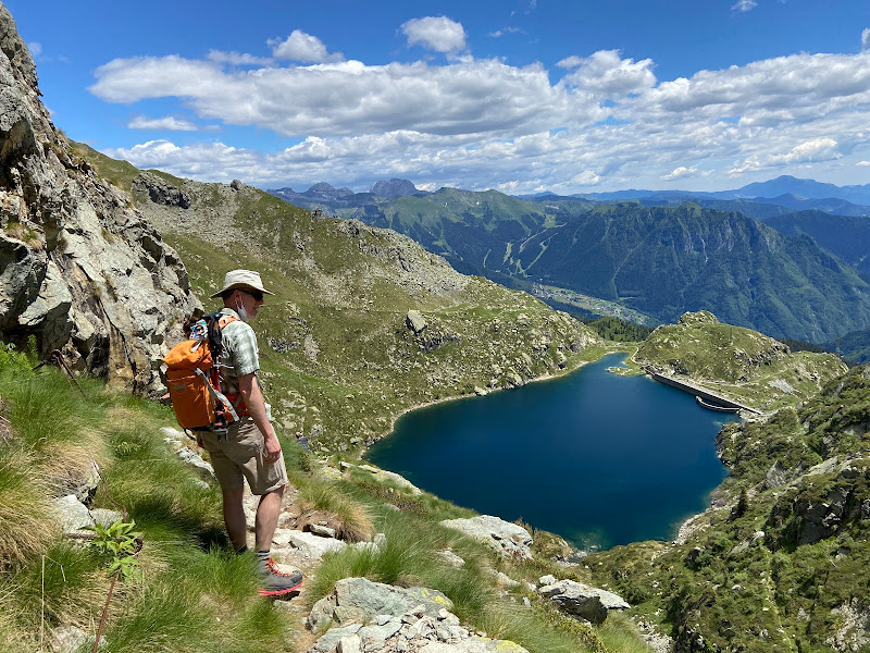 A Hike Around the Cinque Laghi above Valgoglio, Italy