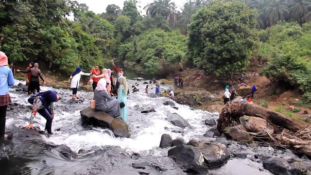Pesona Aliran Sungai Rayap