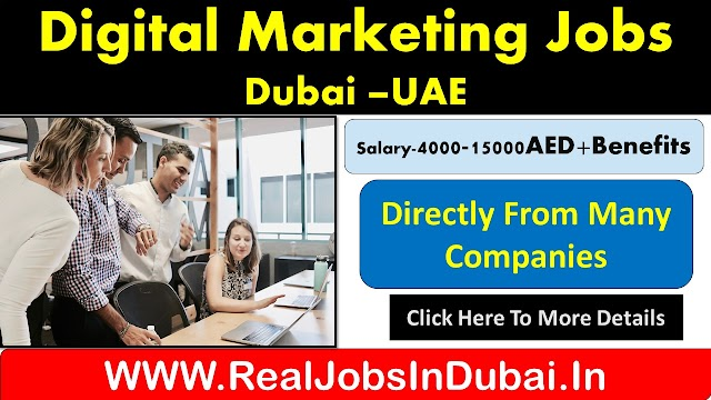 Digital Marketing Jobs In Dubai , Abu Dhabi & Sharjah -2020