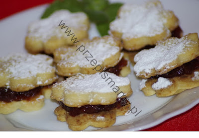 Ciasteczka 3 składnikowe z dżemem