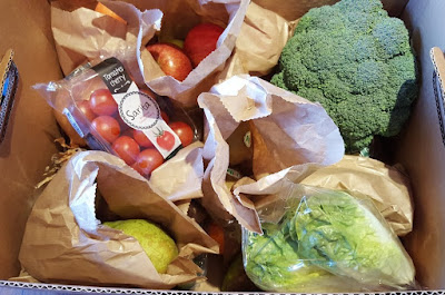 Creamline Fresh Fruit And Veg Box Delivery Review manchester