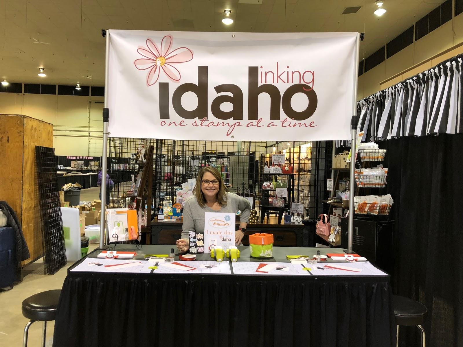 Inking Idaho Idaho Scrapbook Show