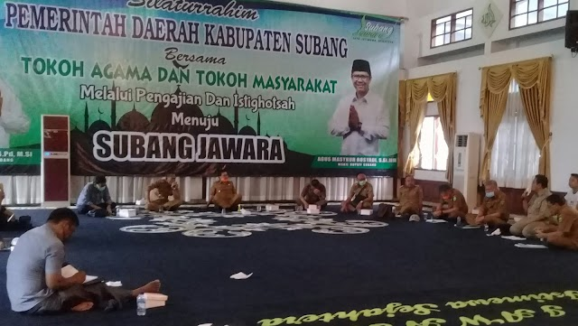 """Di Rumah Aja"" Pemda Subang Kucurkan Dana 60 Miliar untuk Tiga Bulan"