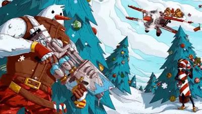 طريقة الحصول على قاذفة الثلج في Fortnite الموسم 5 فورت نايت