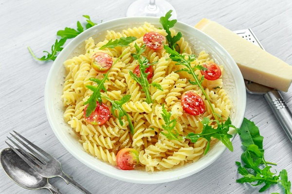 Lemon Garlic Rotini