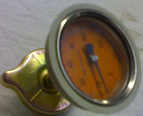 قياس الضغط في نظام التبريد