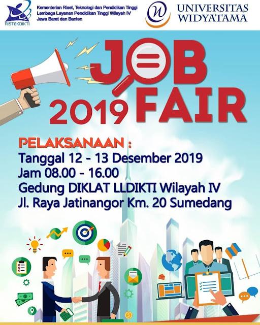 Job Fair Sumedang Desember Terbaru