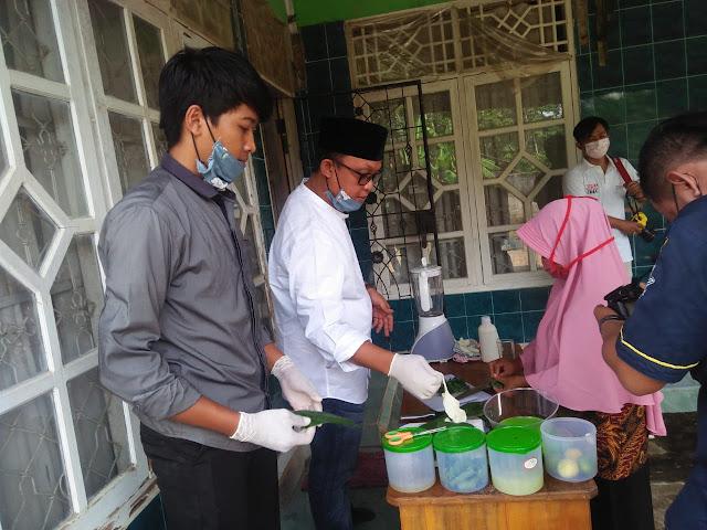 Ajarkan Pembuatan hand Sanitizer, Musa-Ardito Dapat Doa Dan Simpati dari Masyarakat