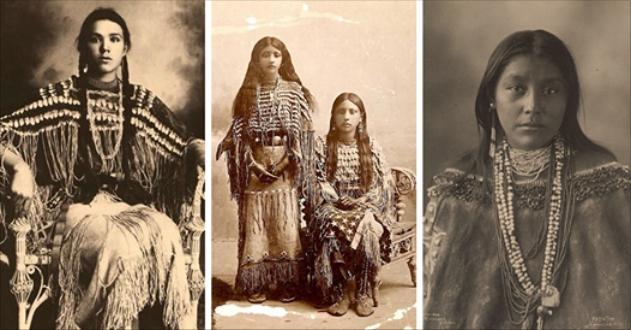 Unexpectedness! Beautiful teen native american indian women
