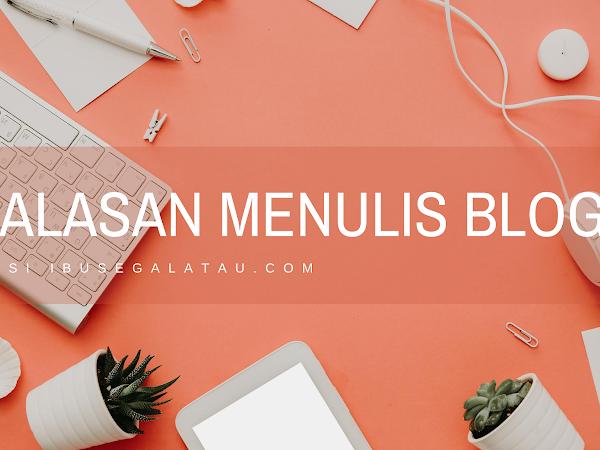 5 Alasan Menulis di Blog Versi Ibusegalatau