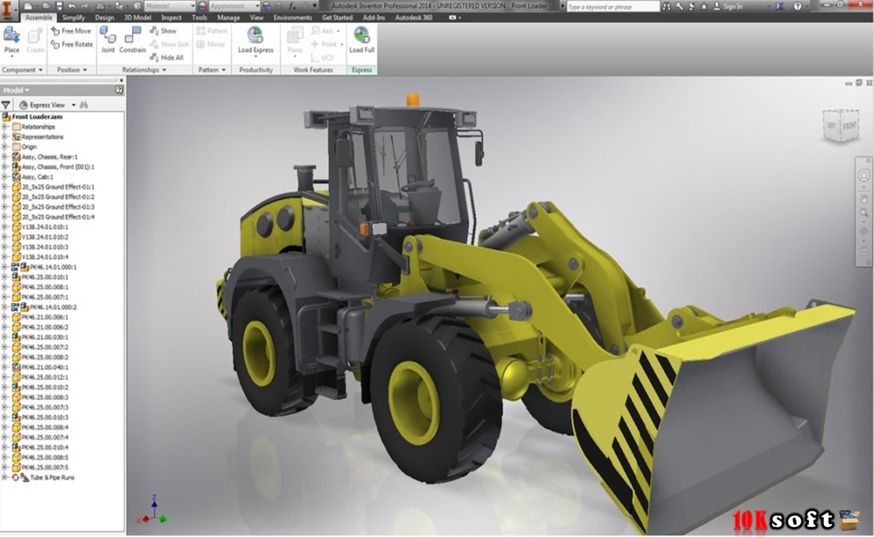 AutoDesk Inventor Professional 2014 Free download