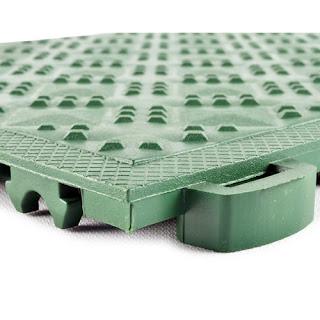 Greatmats Ergo Matta CushionTred Solid rubber plastic tiles basement flooring