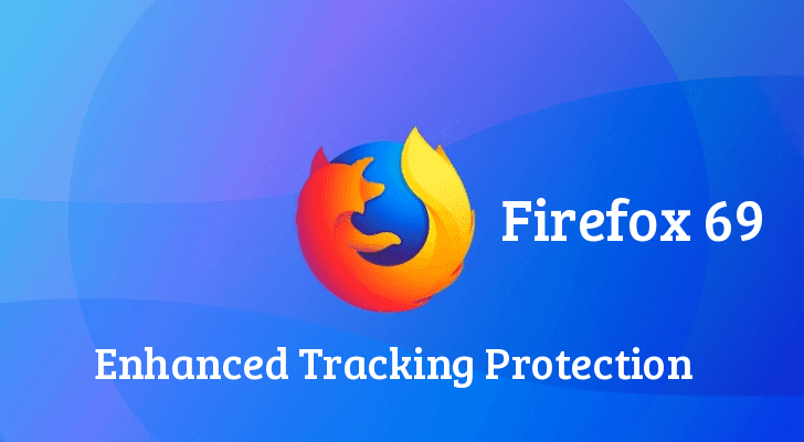 Firefox 69 Released –  Block Autoplay Video & Enhanced Tracking Protection to Blocks 3rd Party Cookies Tracking