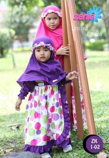 Model Baju Muslim Anak Anak Untuk Lebaran