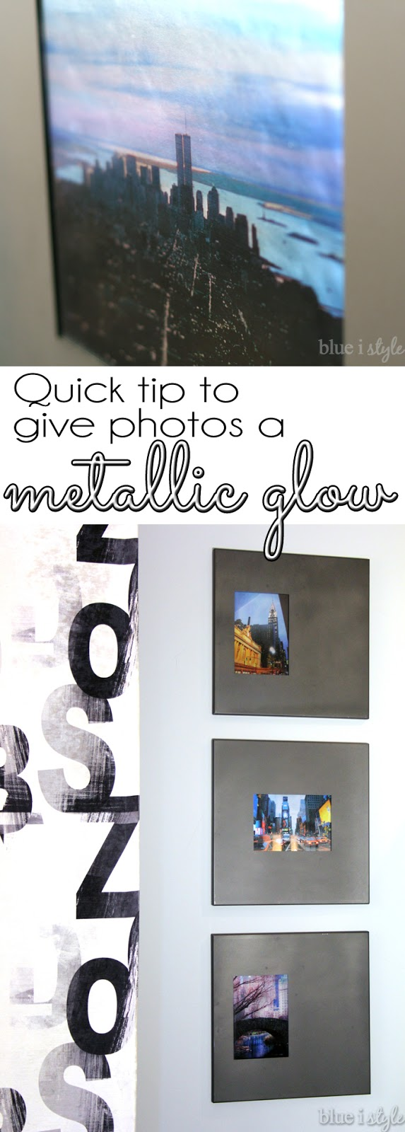 Give Photos a Metallic Glow