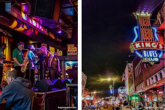 BB King's Blues Club, Beale Street, Memphis