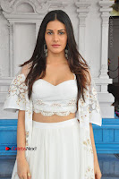 Telugu Actress Amyra Dastur Stills in White Skirt and Blouse at Anandi Indira Production LLP Production no 1 Opening  0071.JPG