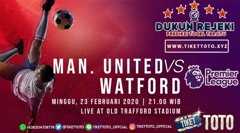 Prediksi Pertandingan Manchester United vs Watford