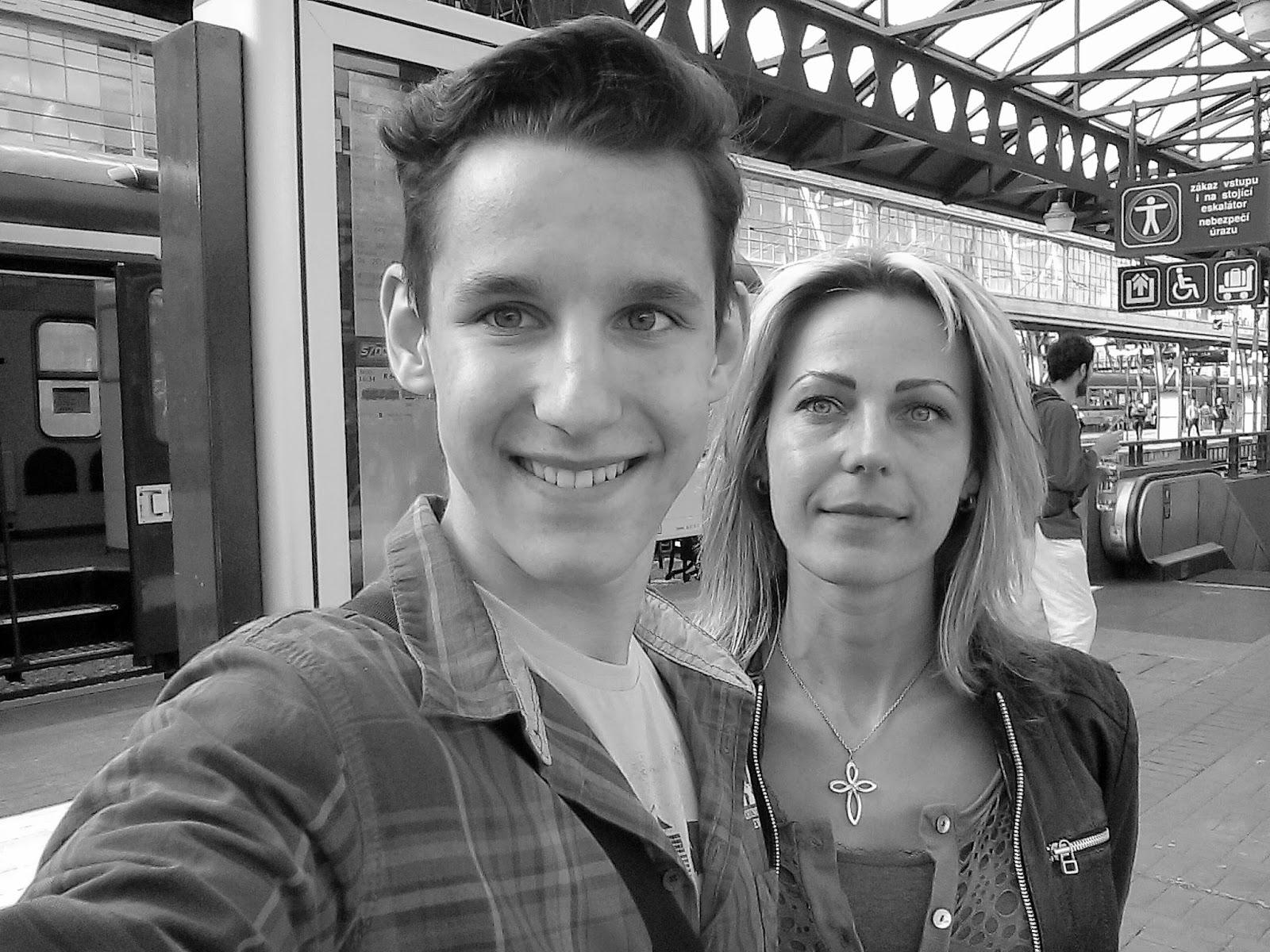 Fotka s mamkou na Světě knihy 2016!