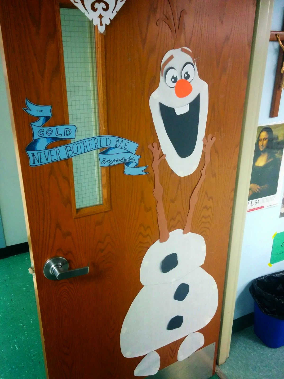 The gallery for --> Olaf Classroom Door Decorations