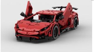 Mainan Lego Lamborghini Aventador Bisa Dikendalikan Ala RC